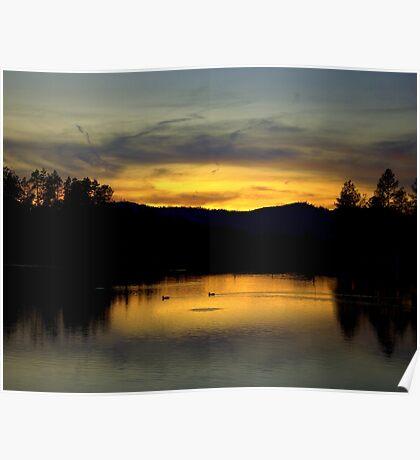 Goldwater Lake Prescott Arizona Poster