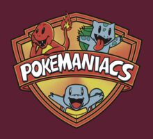 Pokemaniacs (Starters Version) Colab. with Fernando Sala Soler. T-Shirt