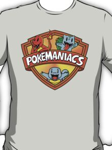Pokemaniacs (Starters Version) Colab. with Fernando Sala Soler. T-Shirt