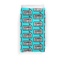 ZOMBIE DISCO SQUAD SPEECH BUBBLE by Zombie Ghetto Duvet Cover