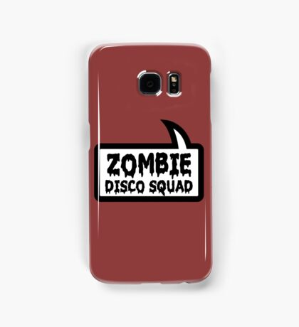 ZOMBIE DISCO SQUAD SPEECH BUBBLE by Zombie Ghetto Samsung Galaxy Case/Skin
