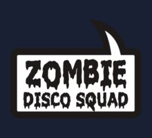 ZOMBIE DISCO SQUAD SPEECH BUBBLE by Zombie Ghetto One Piece - Long Sleeve
