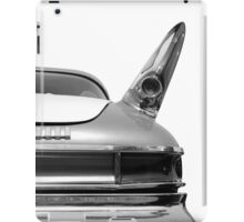 Rear (black&white) iPad Case/Skin
