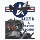 Sally B Tee Shirt by Colin  Williams Photography