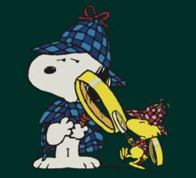 Snoopy Holmes , Doctor Woodstock by loogyhead