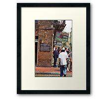 New Orleans Tavern Framed Print