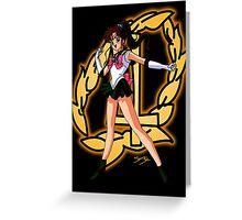 Sailor Jupiter Sailor Scout Greeting Card