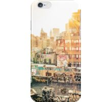 Graffiti Rooftops at Sunset - Chinatown - New York City iPhone Case/Skin