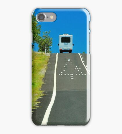 Christmas on the Road iPhone Case/Skin