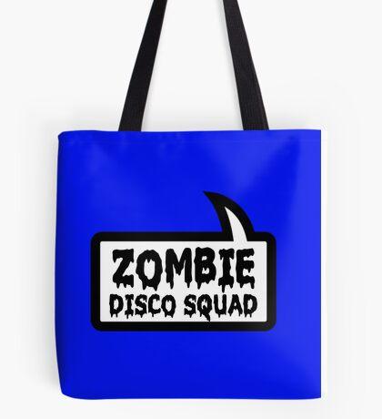 ZOMBIE DISCO SQUAD SPEECH BUBBLE by Zombie Ghetto Tote Bag