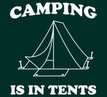 Camping Is In Tents by bravos