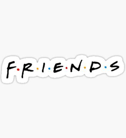 Friends Logo Sticker