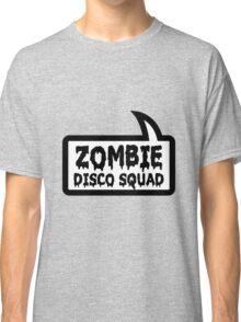 ZOMBIE DISCO SQUAD SPEECH BUBBLE by Zombie Ghetto Classic T-Shirt