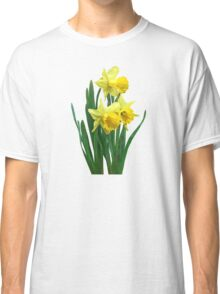 Daffodils Tall and Short Classic T-Shirt