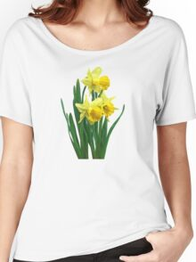 Daffodils Tall and Short Women's Relaxed Fit T-Shirt