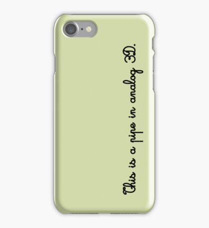 The Treachery of Images iPhone Case/Skin