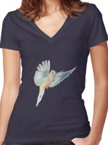 Looking for an olive branch Women's Fitted V-Neck T-Shirt