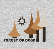 Wyld Forest of Dean t-shirt (in stone) Kids Clothes