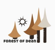 Wyld Forest of Dean t-shirt (in stone) by wyldtee