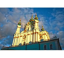 St Andrew's Church, Kiev Photographic Print