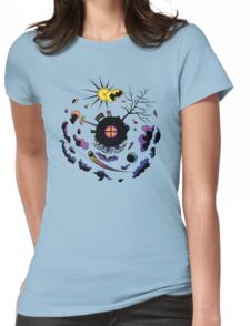 Scene Three-Sixty Womens Fitted T-Shirt