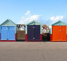 Beach Huts by Lauren McGregor