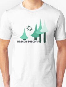 Wyld Brecon Beacons t-shirt (in lichen) Unisex T-Shirt