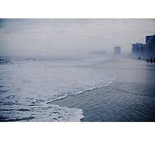 Down the Shore in Atlantic City Photographic Print