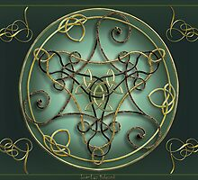 Art Metalwork Celtic Triskel by Bluesax
