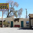 Motel in Santa Fe, New Mexico by Alice Kahn