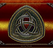 Coat of Arms Celtic Triquetra by Bluesax
