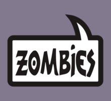 ZOMBIES SPEECH BUBBLE by Zombie Ghetto Kids Tee