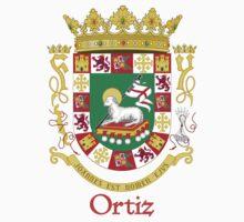 Ortiz Shield of Puerto Rico Baby Tee