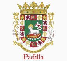 Padilla Shield of Puerto Rico Kids Tee