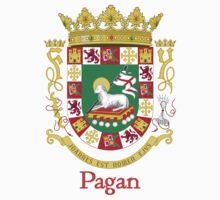 Pagan Shield of Puerto Rico Kids Tee