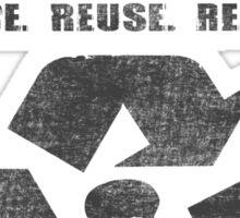 I Am Biodegradable  Sticker