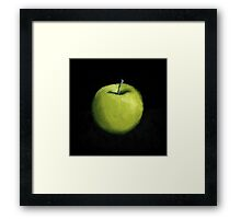 Green Apple Still Life Framed Print