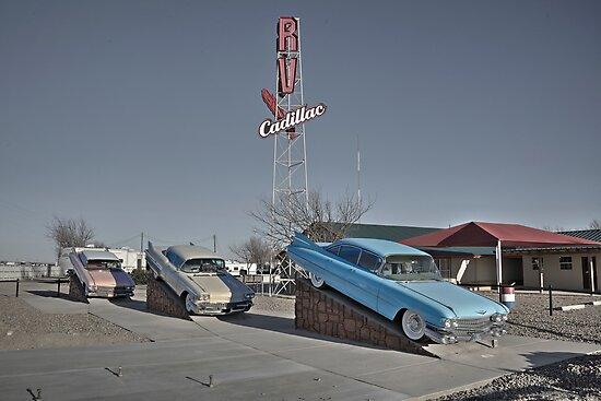 Cadillac RV park  by Rob Hawkins