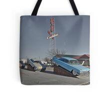 Cadillac RV park  Tote Bag