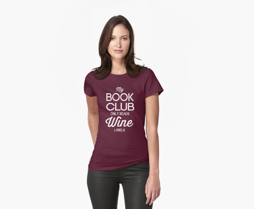 My Book Club Only Reads Wine Labels by bravos