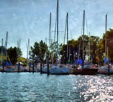 Summer Masts by Michelle Calkins