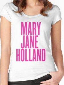 Mary Jane Holland Women's Fitted Scoop T-Shirt