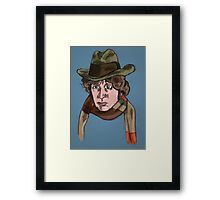 Fourth Lord of Time Framed Print