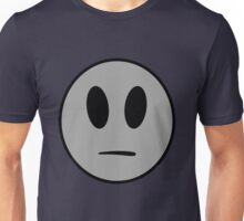Indifferent Face Unisex T-Shirt