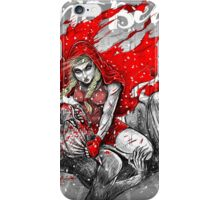 Red Knee Ride Hood - Xmas edition iPhone Case/Skin