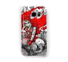 Red Knee Ride Hood - Xmas edition Samsung Galaxy Case/Skin