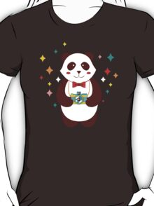 Cute Panda Photographer  T-Shirt