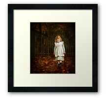 Lonley Child Framed Print