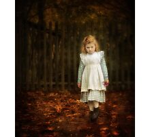 Lonley Child Photographic Print
