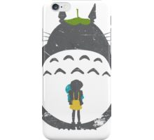 Totoro Silhouette iPhone Case/Skin